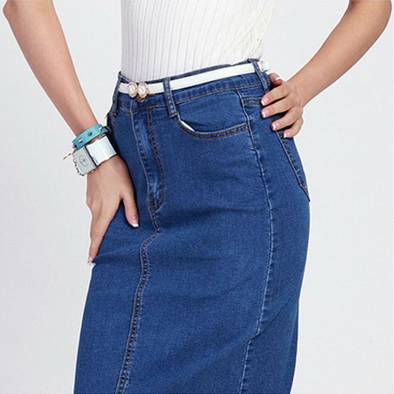 Fashion2Love Women s Juniors Mid Rise A Line Long Jeans Maxi Denim Skirt. Sold by Fashion2love. $ - $ Fashion2Love N Women s Juniors High Waist Long Knee Length Midi Pencil Denim Skirt. Sold by Fashion2love. $ $ No Fuze Girls' Denim Pencil Skirt.