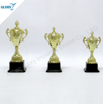 Wholesale new design metal trophy for sports gifts