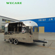 Factory commercial street electric mobile food vending van for sale