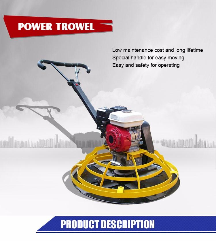 trowel machine