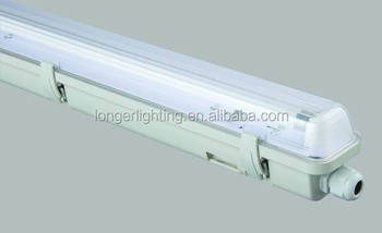 Water Proof Fluorescent Light Fixture With Electronic Ballast And T5 ...