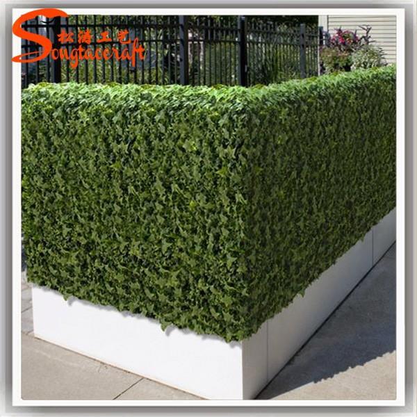 Künstliche zaun von künstlichen efeu zaun für künstlichen grünen ...