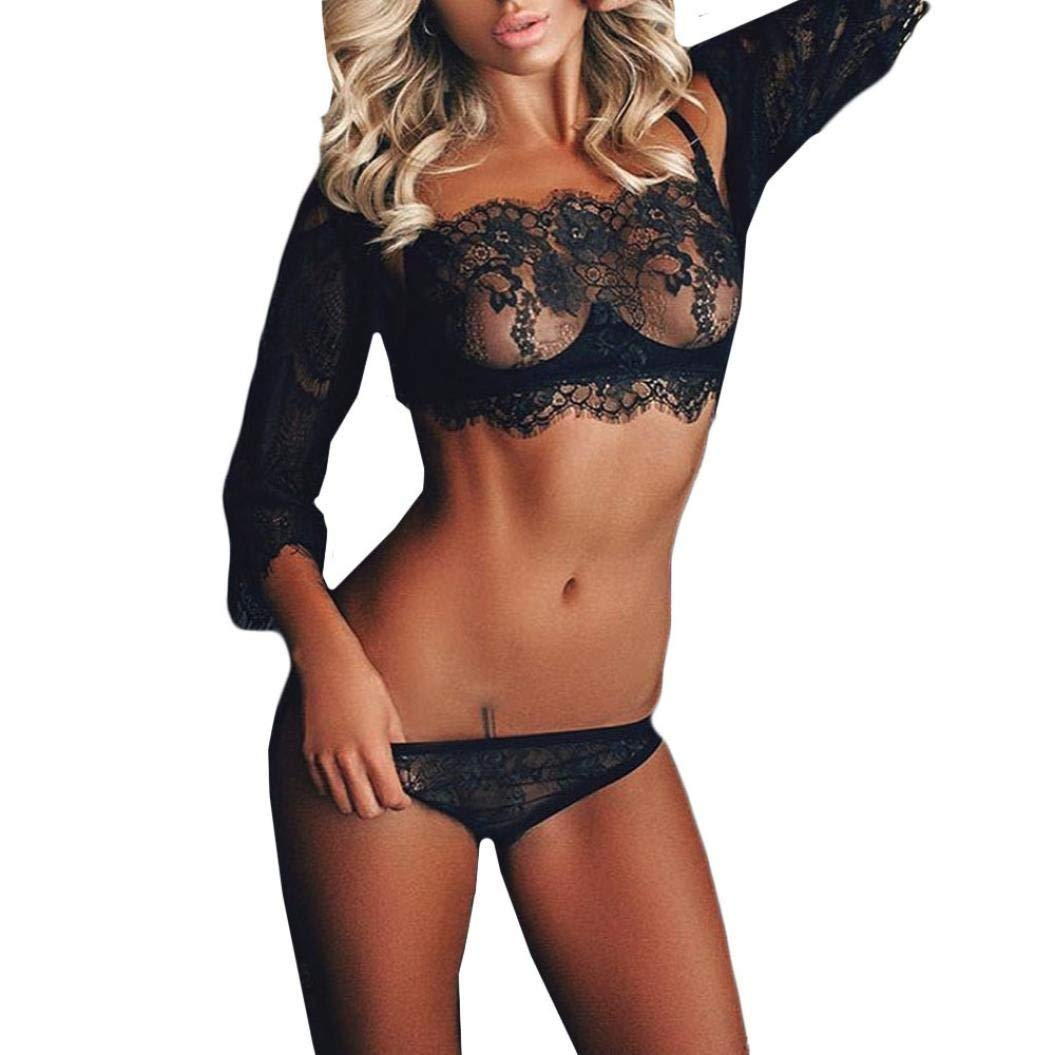 Get Quotations · Lace Underwear Set Sexy Lingerie Women Girl Tempting Sexy  Lace Lingerie Bodice Lingerie Set Underwear Bodysuit d74a30b9c