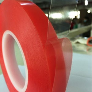 Alternative to Tesa 4965 acrylic adhesive double sided red pet tape