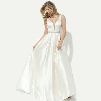 Haute Couture Weiß Brautjungfer Kleider Hup Classy Abendkleid Porn ...