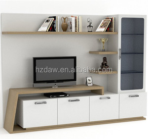 Modern Design Customized Wooden TV Stand Living Room Furniture Display Cabinet