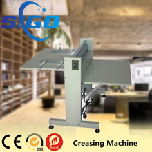 manual paper automatic used die cutting creasing machine