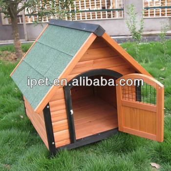 Wooden Handmade Dog Kennel With Door Dk002m Buy Handmade Dog