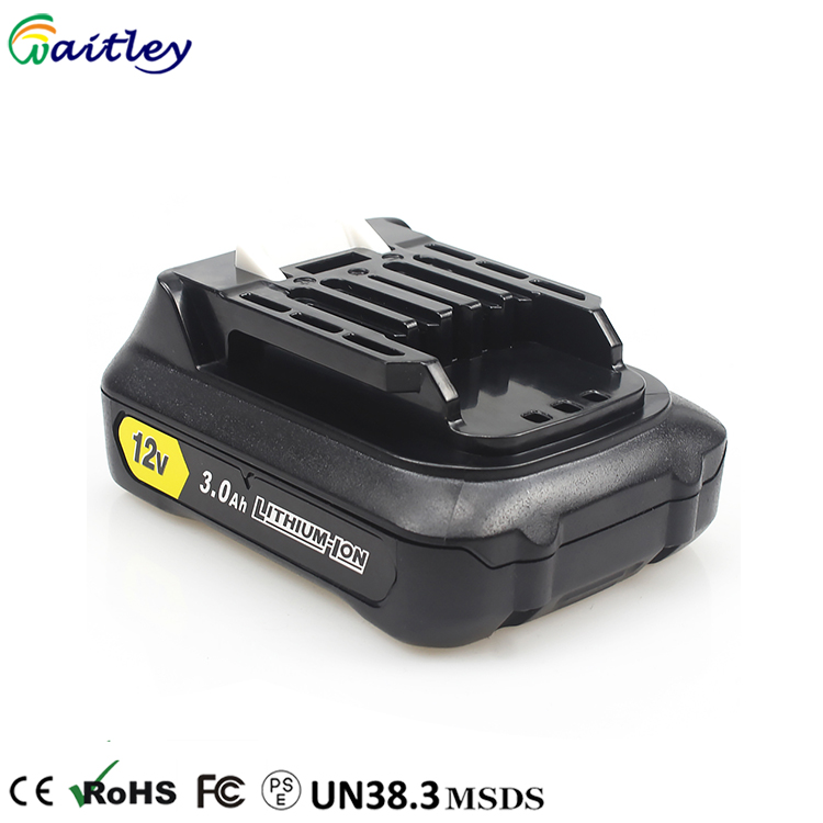 Hot Selling On Alibaba 12-volt 3.0ah Li-ion 12v power tool Battery bl1015 for Makita Cordless Hammer Drill / Sander