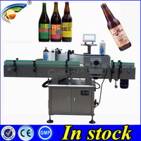 10% OFF March Expo one side labeling machine,glass labeling machine
