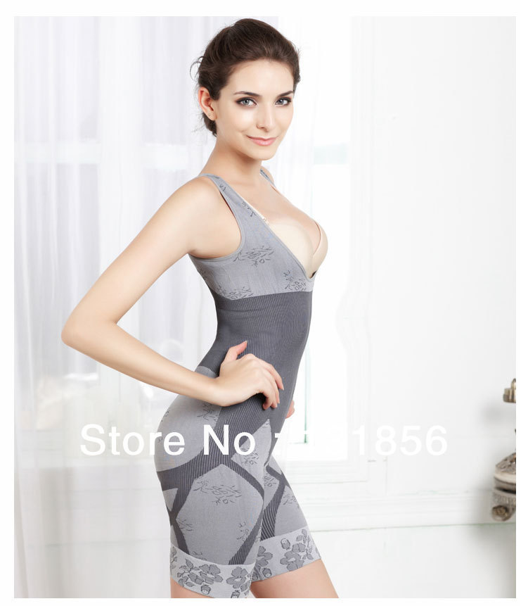 62c47dd3626 Get Quotations · Slimming Underbust Bum Body Shaper BAMBOO BODY Shapewear  Suit Waist cincher