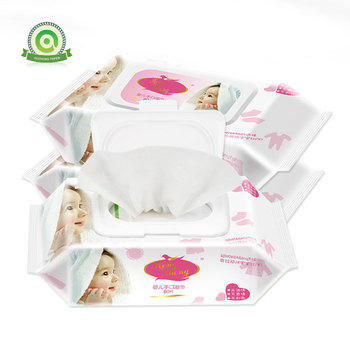 High Quality Baby Nonwoven Clean Wipe Wet Tissue  for Hands and Face   Flip-Top Packs