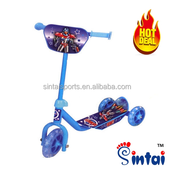 Mini Kids Scooter Children Outdoor Toys 3 Wheel Kick Scooter Baby Slide Bicycle