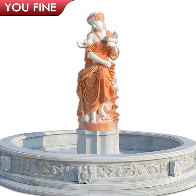 garden tiers stone water fountain Wall Fountain For Sale
