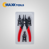 Interchangeable 4 in 1 Snap Ring Circlip Pliers
