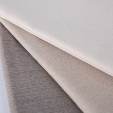 3 pass coated polyester suede fire retardant blackout fabric for curtain