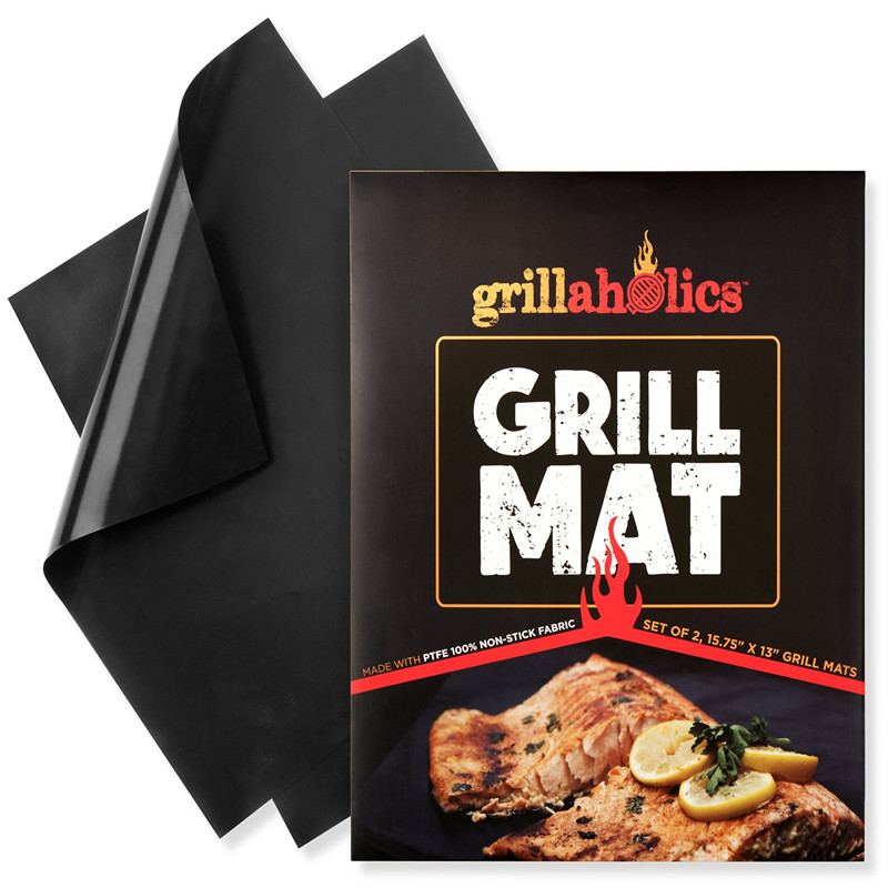 Charcoal Barbecue Non-Stick Fire Resistant Miracle Silicone Grill Mat