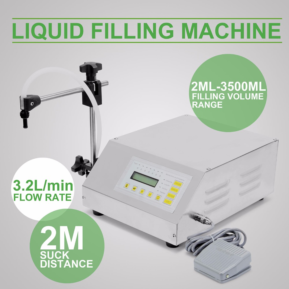 Updated Model GFK-160 2ML-3500ML Digital Control Pump Liquid Filling Machine