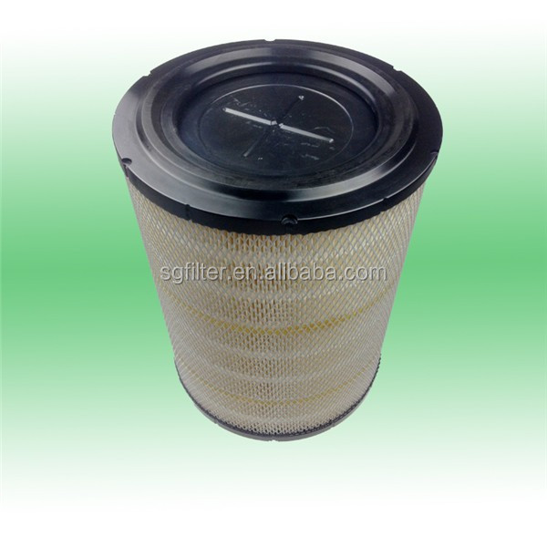 air filter material air intake filter engine parts / Hino truck air filter