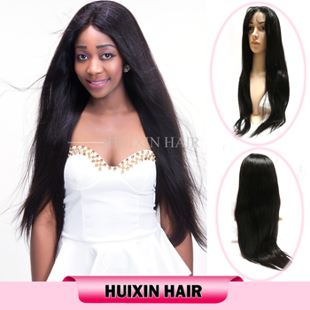 actory Price Wholesale Human Hair Wigs Italian Yaki Full Lace Wig for Black Women