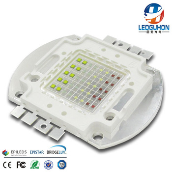 RGB W led chip 30mil cob packing with four color full color led cob