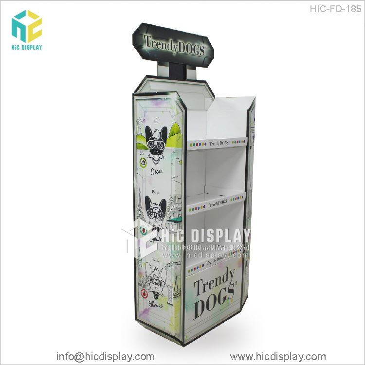 HIC Toy display kiosks, Four sides toy display rack
