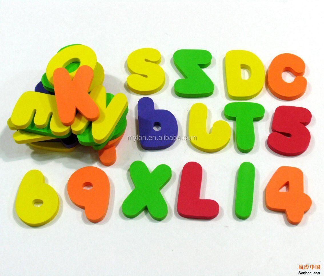 Magnetic Alphabet Letters Eva Foam