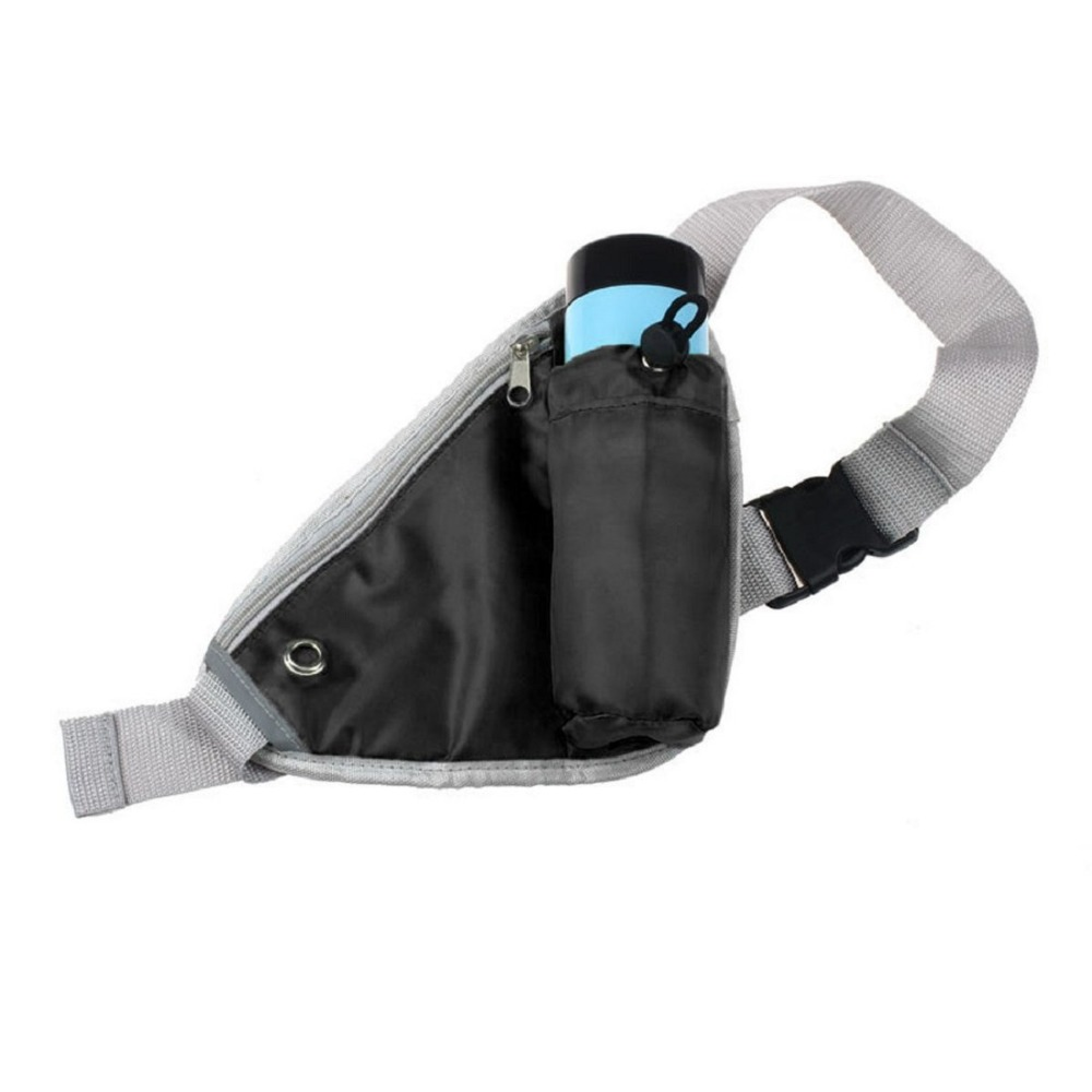 Waist Belt Bag Water Bottle Pouch Pocket