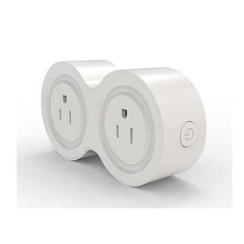 ShenZhen Factory PC Material 2 in 1 Mini US Smart Plug WiFi Socket