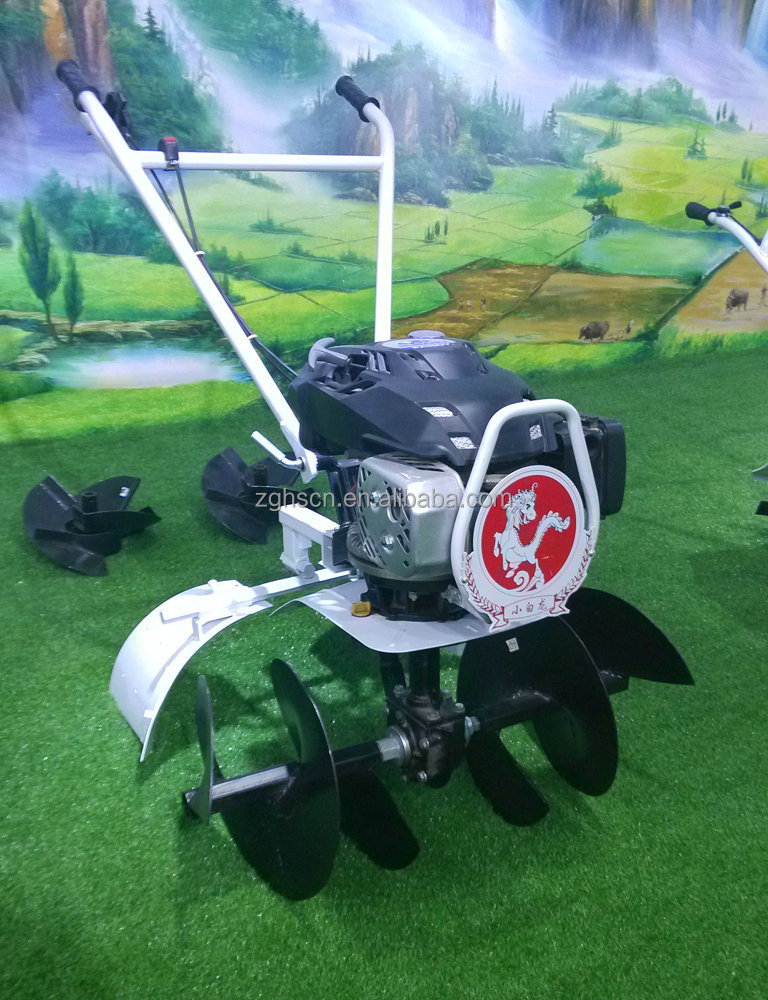 6.5hp Luxury Gasoline Made-in-china Tiller Cultivators Hoe Tractor ...