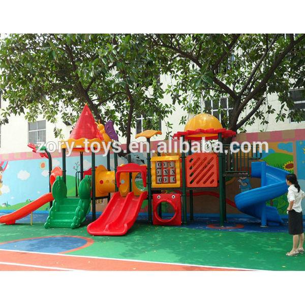 Gran Jardin De Infantes Ninos De Plastico Juegos Infantiles Exterior
