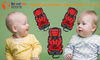 new style red HDPE plastic and fabric baby car seat for baby 9-36kg