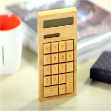 Wholesale Factory price good quality bamboo calculator