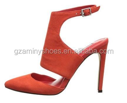 dress women shoes strap Open ankle back q6TtFFR