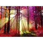 Forest&Sun Scenery Customize 5D diy Cross Stitch Kits Full Drill Square Resin Mosaic Embroidery Diamond Painting Wall Decoration