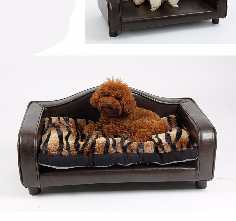 Luxury Soft Eco-friendly PU Pet Sofa