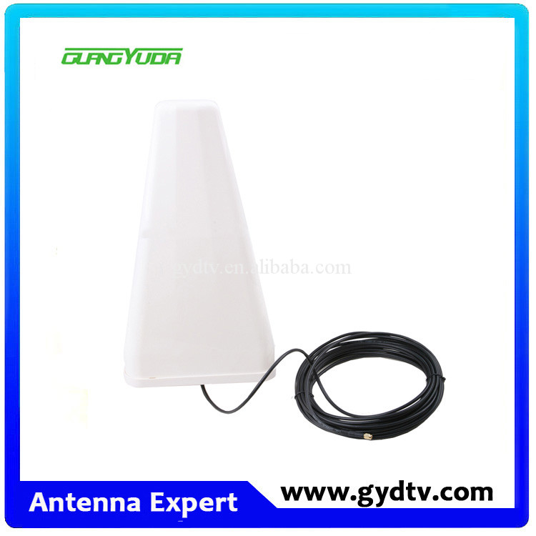800-1900Mhz gsm log-periodic outdoor antena /4g lpda yagi antenna with long cable and bracket