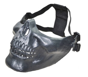 Gray color outdoor Skull Skeleton Airsoft Paintball Mask
