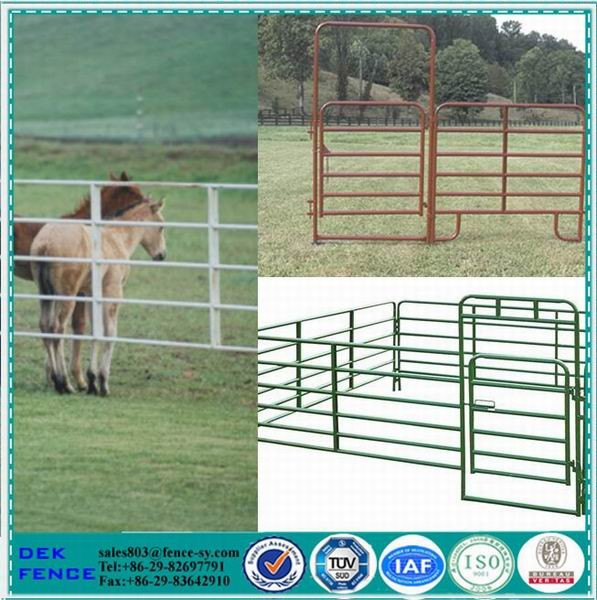 Oval Rail Heavy Duty Portable Cattle Panels For Sale