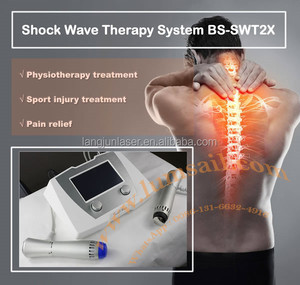 Health Care Back Pain Relieve Neck And Shoulder Massager Cordless Handheld Massager Shockwave Machine