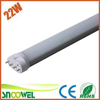 12w led plug tube light 2g11 replacing led fluorescent tubes 2g11
