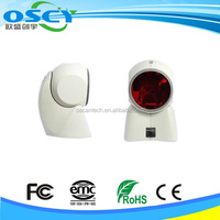 White and black Orbit Barcode scanner, USB Kit Omni-directional 1 D Laser
