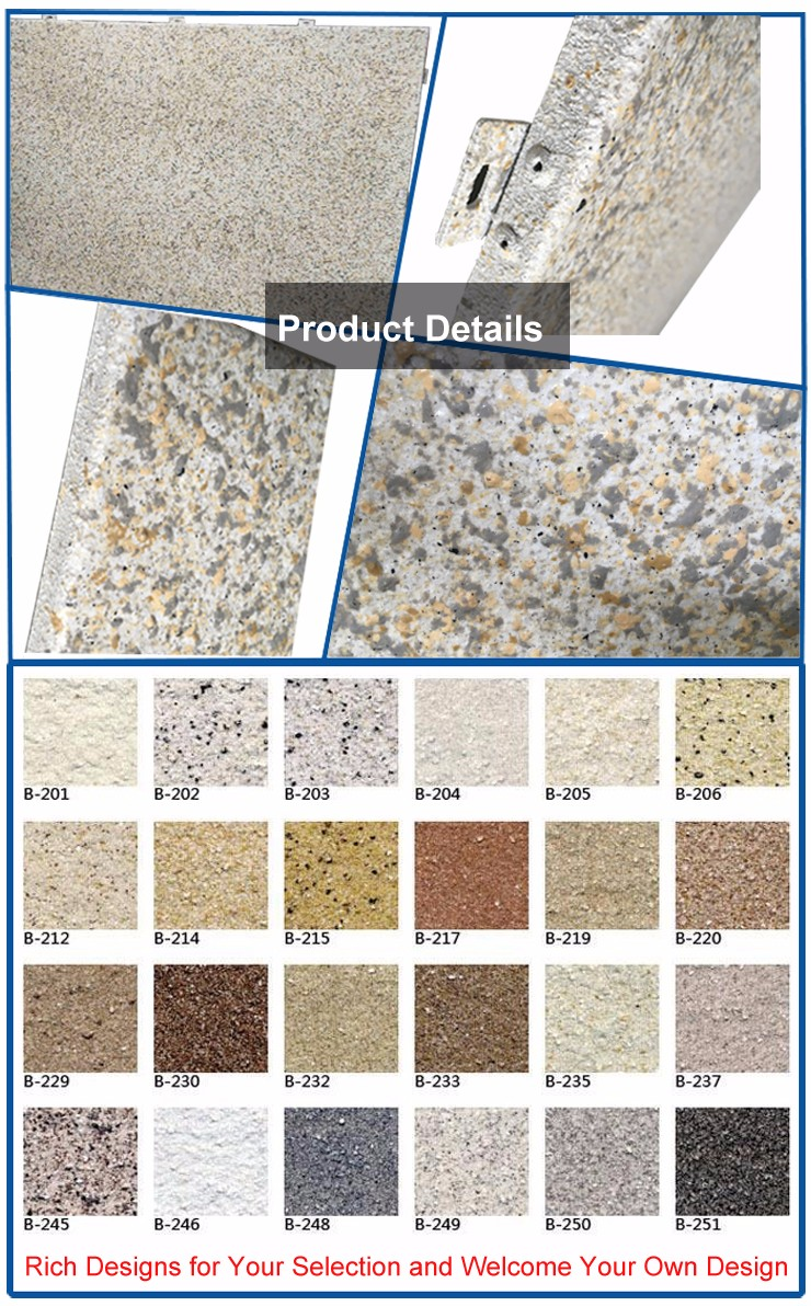 Cheap Exterior Wall Specification Types Of Stone Bathroom Aluminum Cladding Sheet Materials