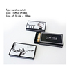 100MM 50 sticks black box white word european big wooden stick safety matches