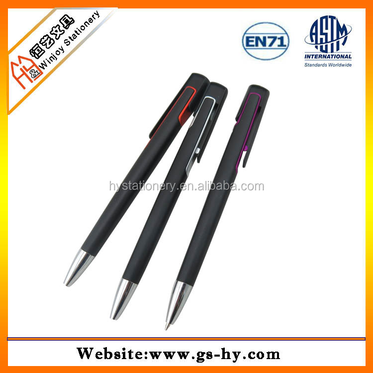 high quality fashion design signature ball pen