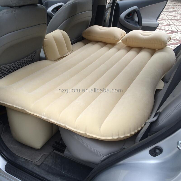 Foldable Inflatable Car Air Mattress Cushion Bed for Long Distance Driving Traveling People