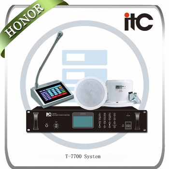 ITC New Premium Professional Portable IP Network Public Address System PA System