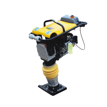 Concrete jumping jack tamper gasoline vibrating plate compactor tamping rammer with low price