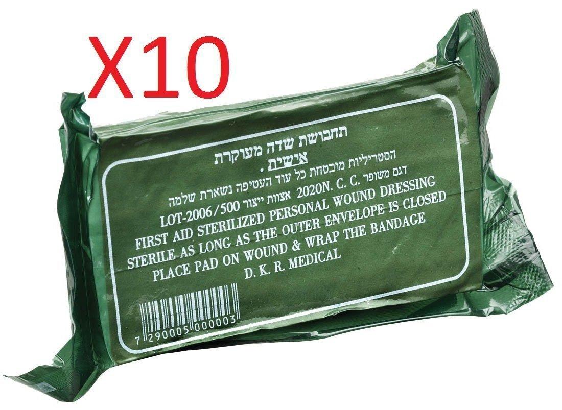 IDF Israeli Army Dressing, pack of 10