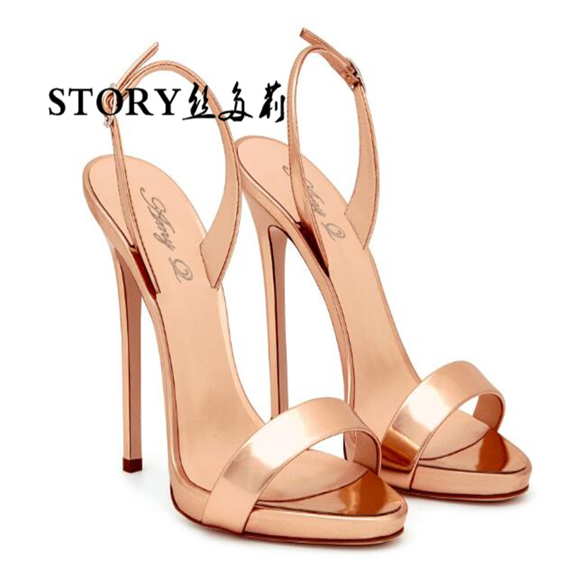most elegant sexy ladies party dress lace up pu stiletto nude pump thin ankle open peep toe strappy shoes sandals high <strong>heel</strong>